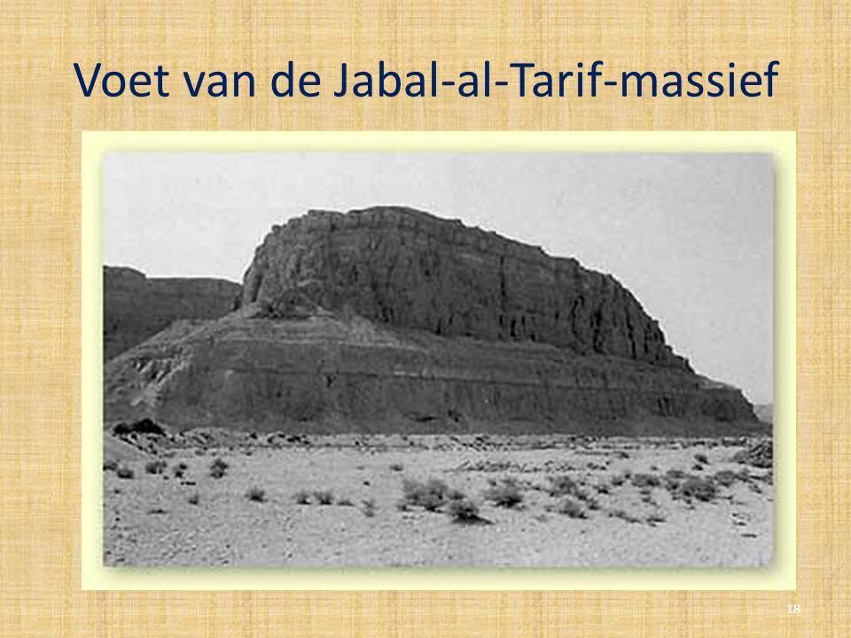 Voet van de Jabal-al-Tarif-massief 18