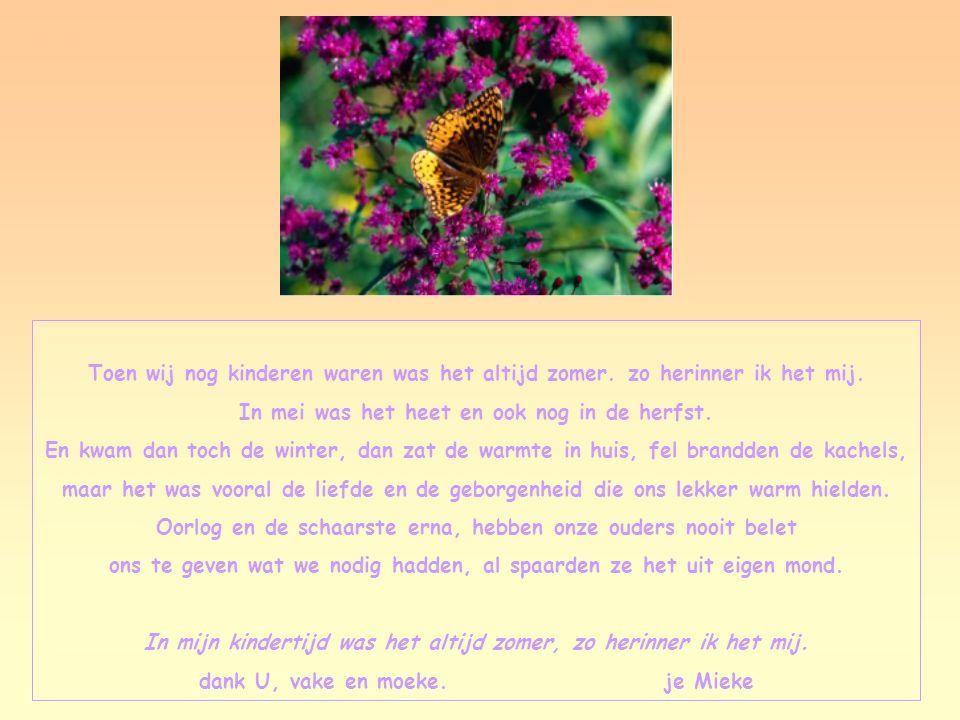 Ik zegen u, verlangen, nu diep mijn blik begrijpt hoe rozenknop door zonne tot roze rijpt. Dat leerde ik uit uw ogen: Die deden stil-spontaan bloesems