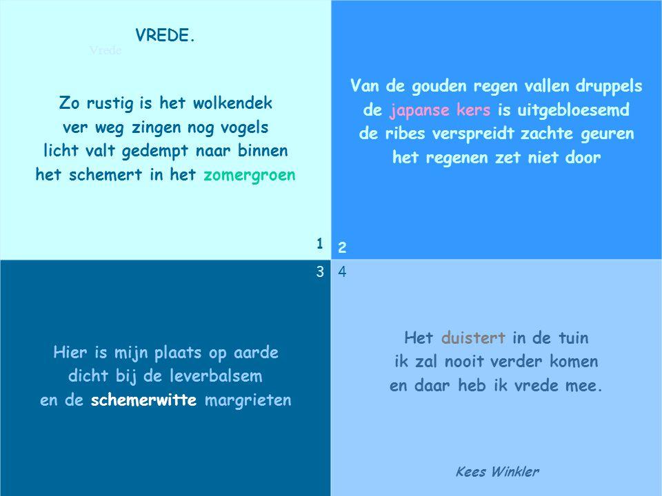 Zet het blauw van de zee tegen het blauw van de hemel, veeg er het wit van een zeil in, en de wind steekt op. Willem Hussem Wind
