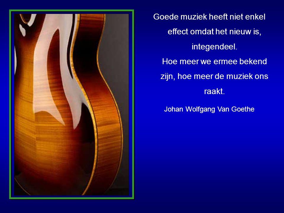 Goede muziek heeft niet enkel effect omdat het nieuw is, integendeel.