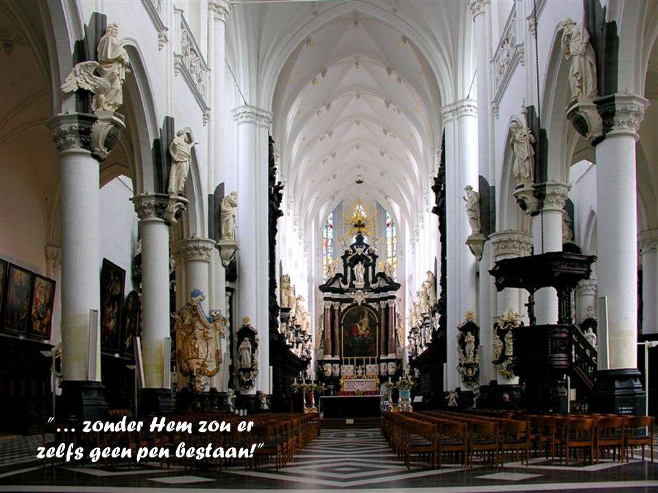 Mijnheer de kardinaal, Dank u wel! met de beste groeten van Magda en Dries uit Kuurne