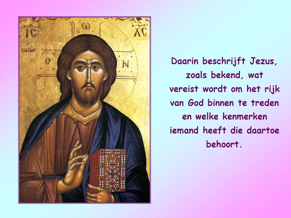 Het is een stukje van dat grote geheel van gezegden van Jezus, de zogenaamde Bergrede, die we ook in het evangelie van Matteüs vinden.