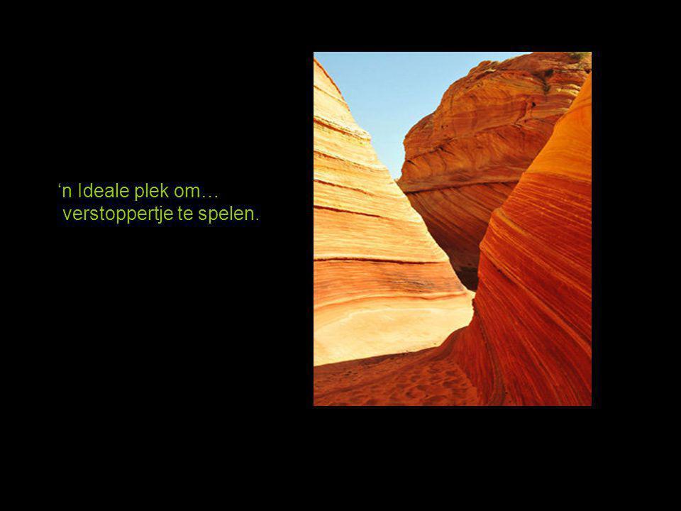 """Deze plek ligt nabij de Arizona - Utah grens, genaamd """" de Golf """" 'n Paradijs voor fotografen."""