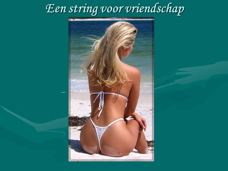 Een string voor vriendschap