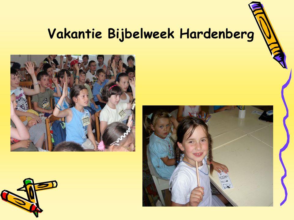 Vakantie Bijbelweek Hardenberg