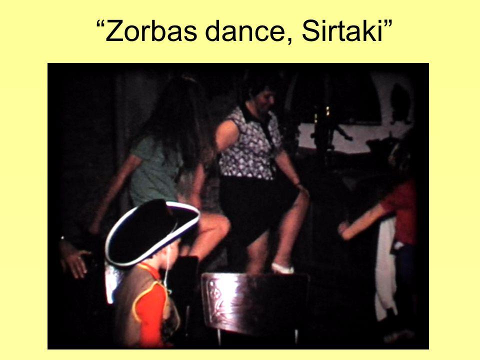 Zorbas dance, Sirtaki