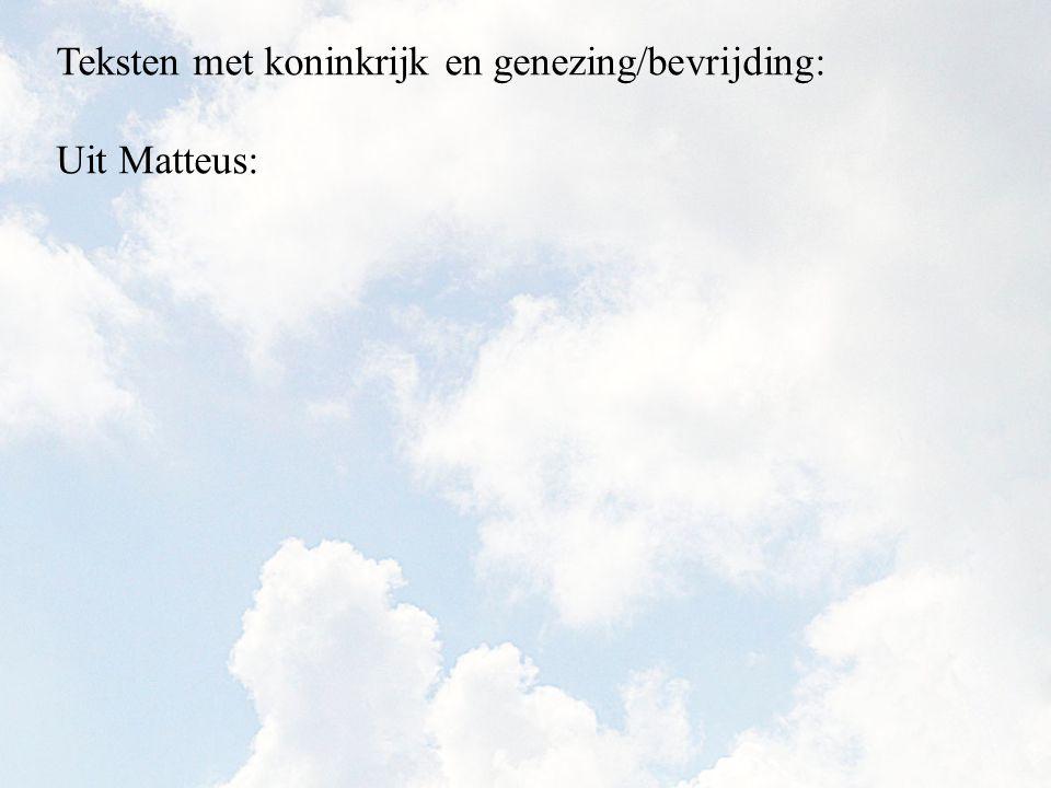 Uit Matteus: