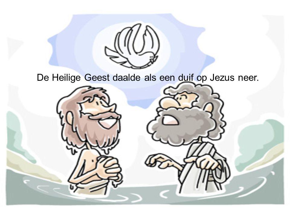 Jezus beval de boze geesten uit hem te gaan.Het waren er Legio.