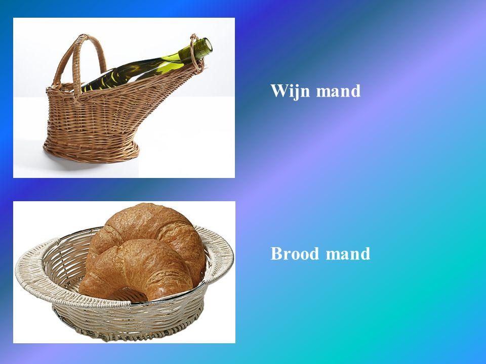 Wijn mand Brood mand