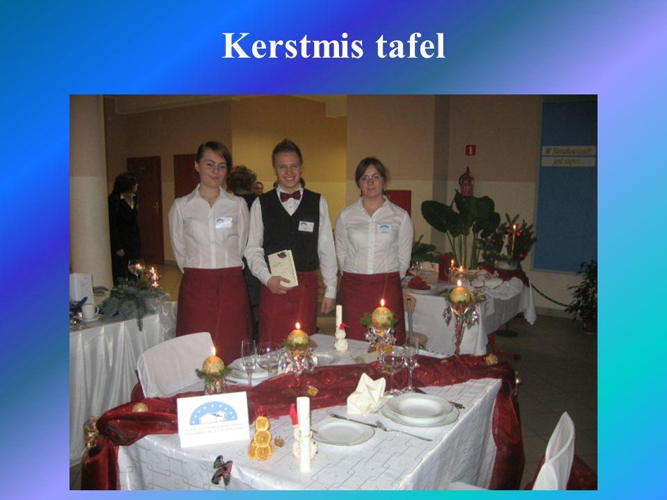 Kerstmis tafel