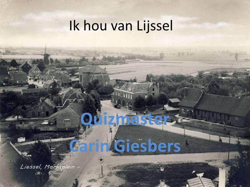 Ik hou van Lijssel Quizmaster Carin Giesbers