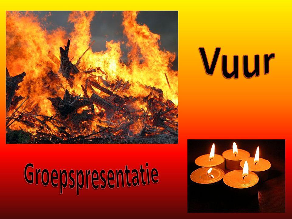 Vuur heeft verschillende facetten: - warmte - gezelligheid - licht - bedreiging - onmacht - vernietiging - loutering - zuivering - … Vuur, overal om je heen!
