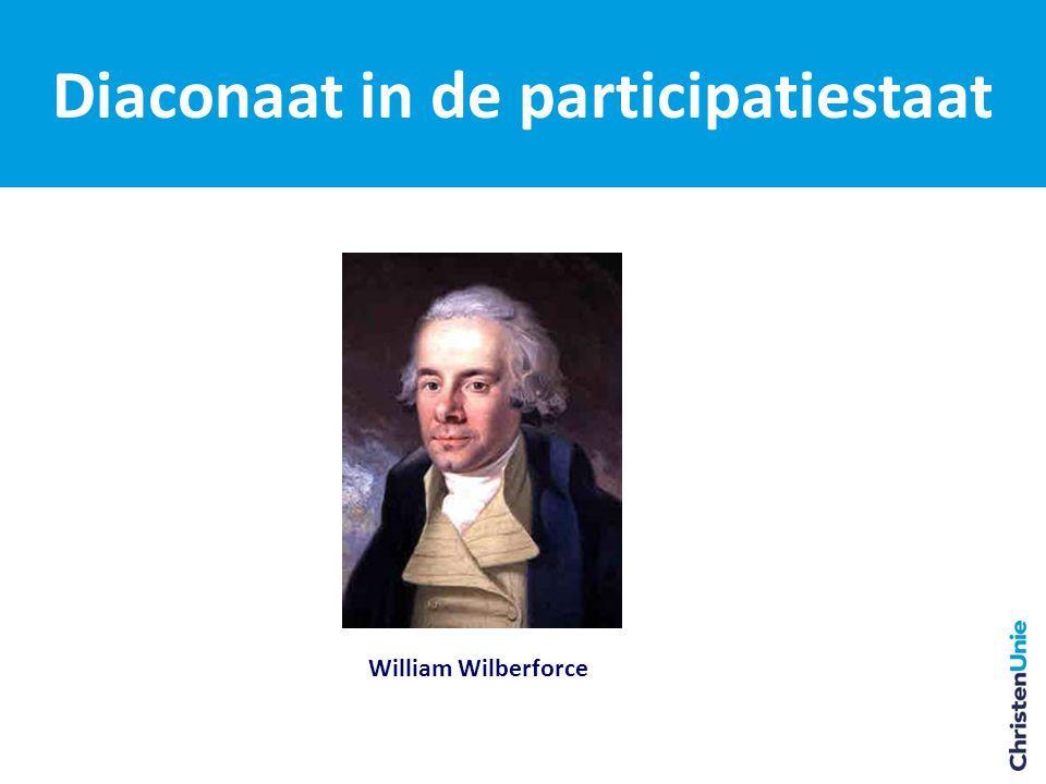 Diaconaat in de participatiestaat William Wilberforce