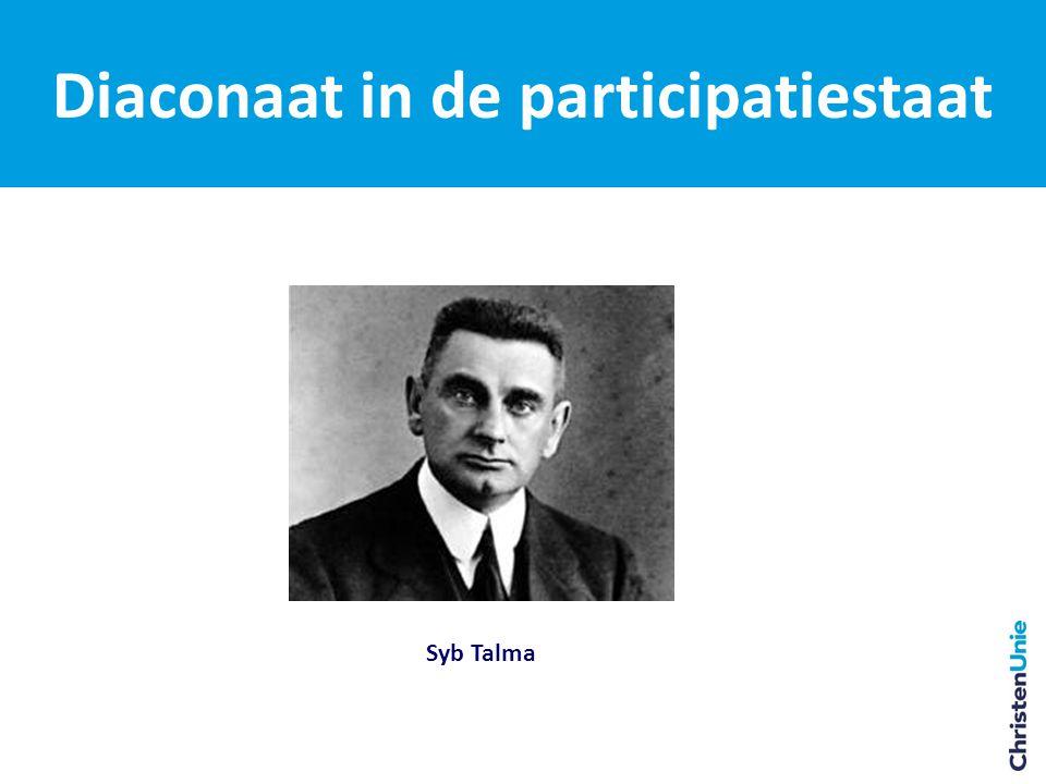 Diaconaat in de participatiestaat Syb Talma