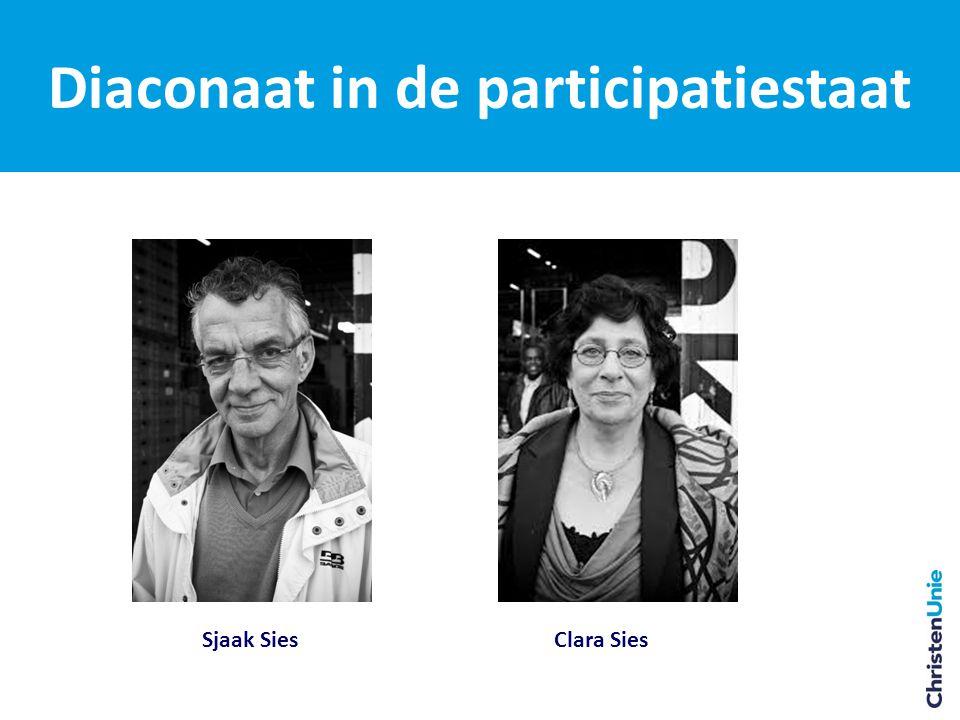 Diaconaat in de participatiestaat Sjaak Sies Clara Sies