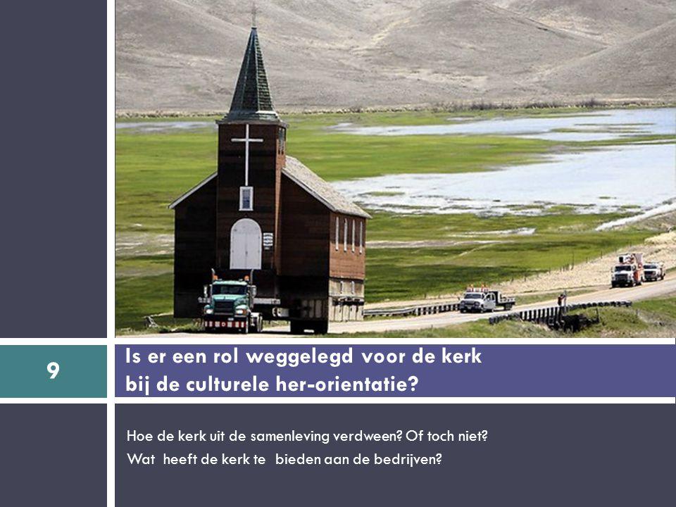 Hoe de kerk uit de samenleving verdween. Of toch niet.