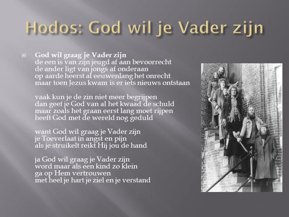  God wil graag je Vader zijn de een is van zijn jeugd af aan bevoorrecht de ander ligt van jongs af onderaan op aarde heerst al eeuwenlang het onrech