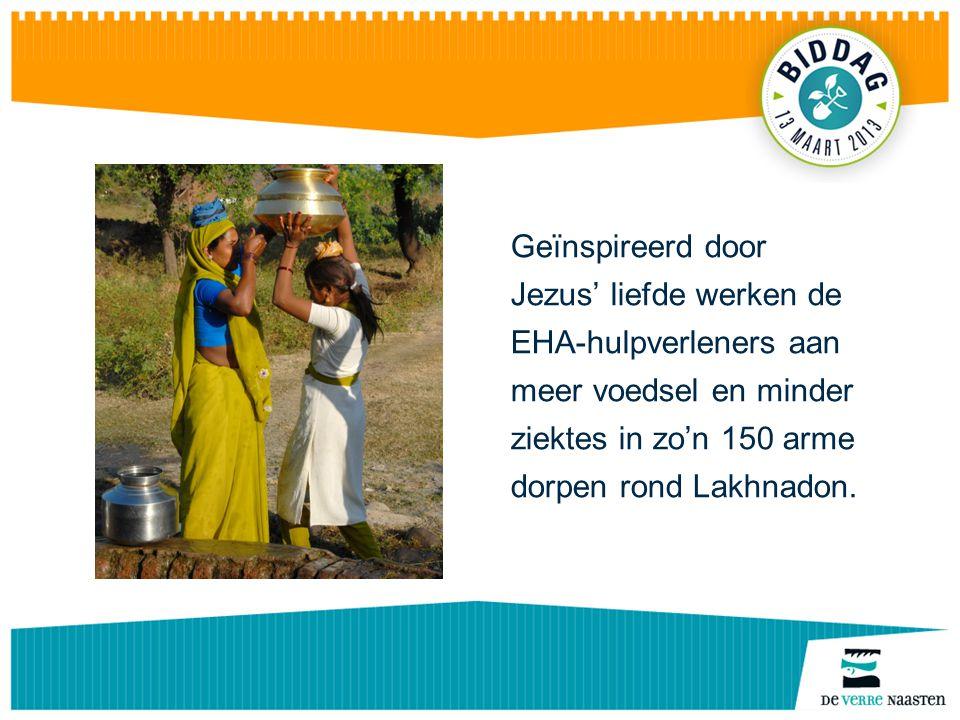 De EHA-hulpverleners helpen begeleiden trainen adviseren op het gebied van landbouw en gezondheidszorg