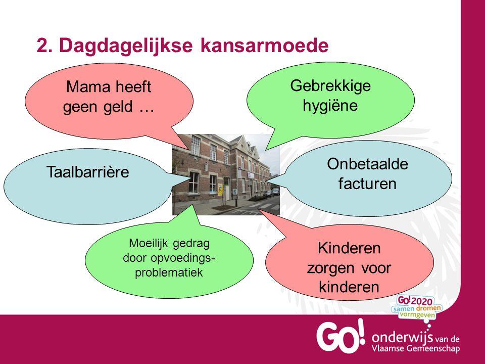 3.Situering van de school in cijfers Basisschool De Suikerspin heeft heel wat kansarme leerlingen.