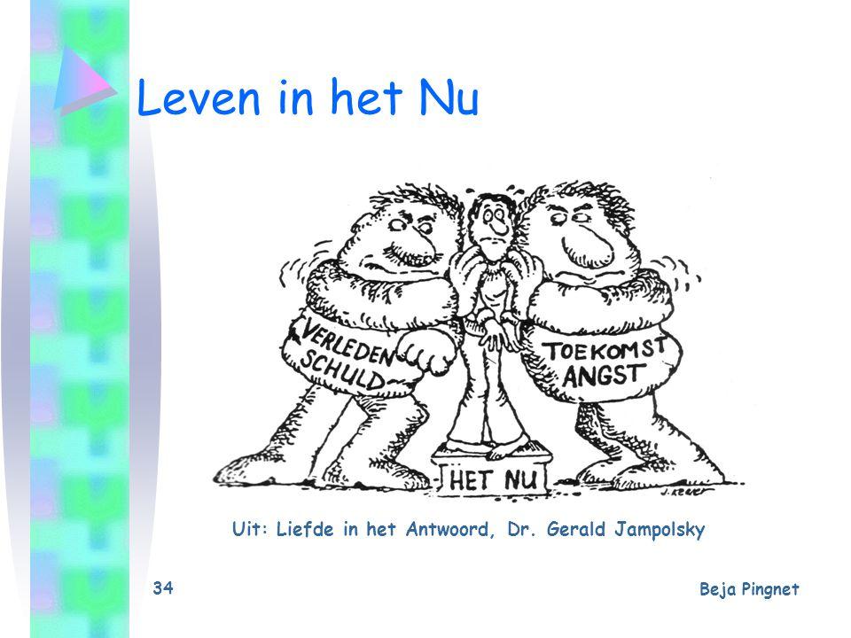 Beja Pingnet 35 Leven in het Nu Uit: Liefde in het Antwoord, Dr. Gerald Jampolsky