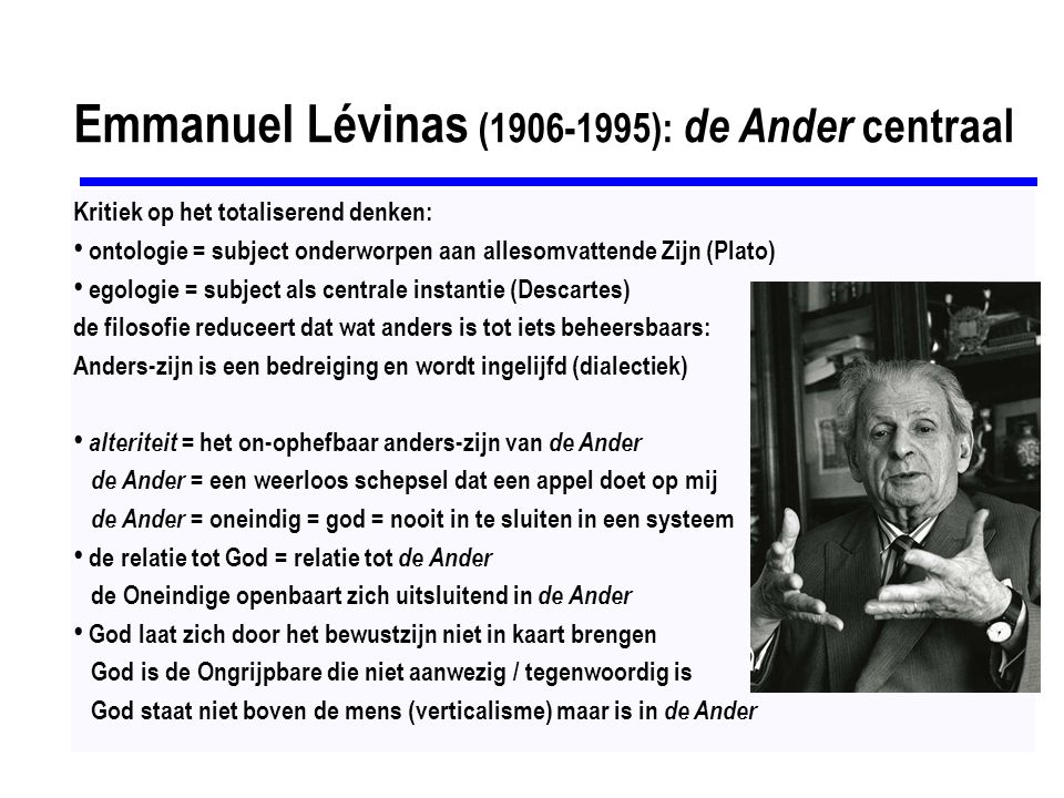 Jacques Derrida (1930-2004): Behoudens de naam En de Engel zei tot hem: Waarom vraagt gij naar Mijn naam.