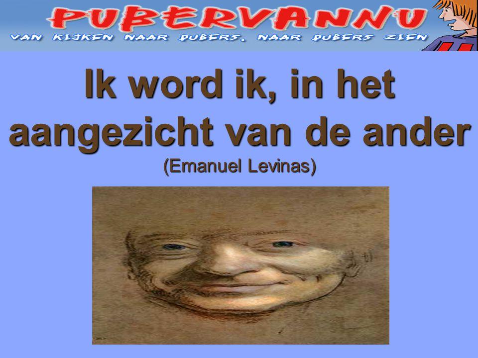 Ik word ik, in het aangezicht van de ander (Emanuel Levinas)