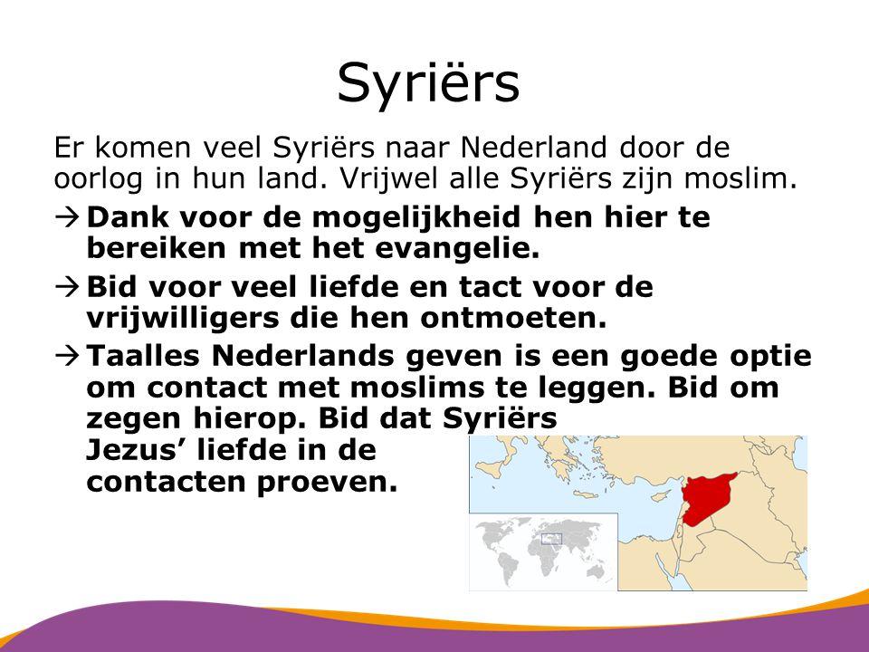 Somaliërs In Nederland wonen ongeveer 26.000 Somaliërs.