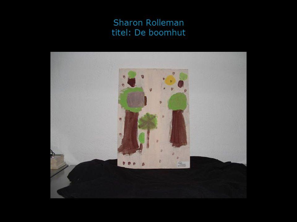 Sharon Rolleman titel: De boomhut