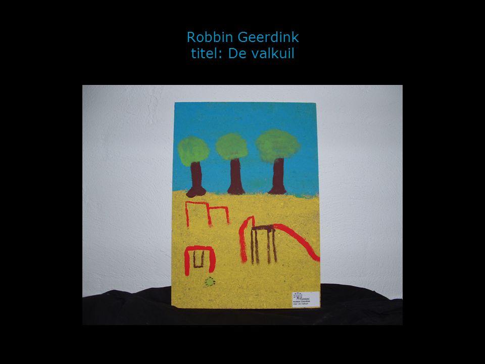 Robbin Geerdink titel: De valkuil