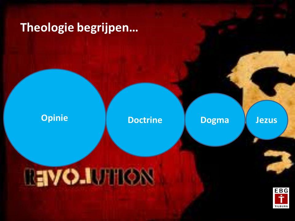 Doctrine Opinie Dogma Theologie begrijpen…