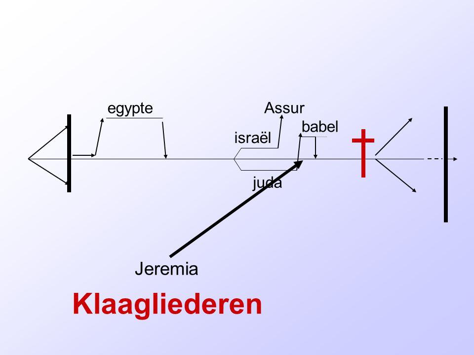 israël juda egypteAssur babel Klaagliederen Jeremia
