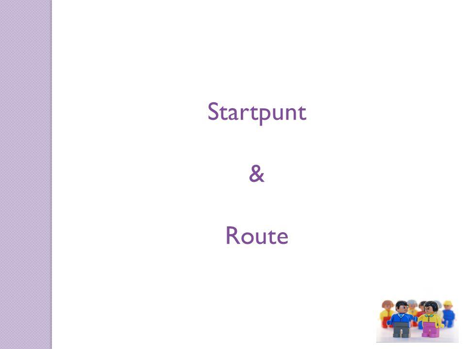 Startpunt & Route