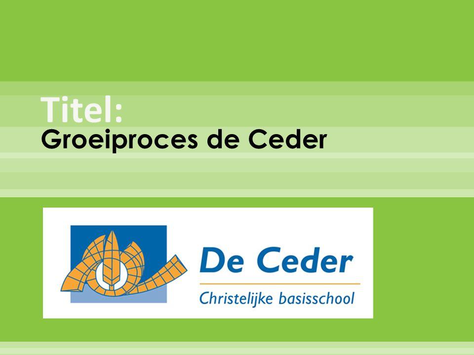 Groeiproces de Ceder