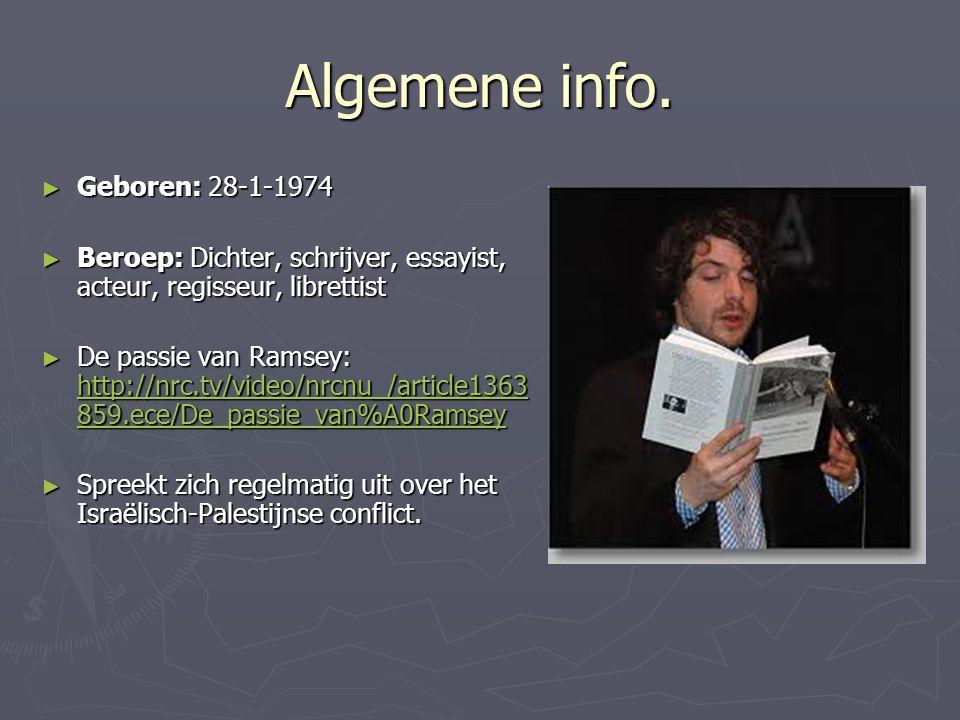 Algemene info.