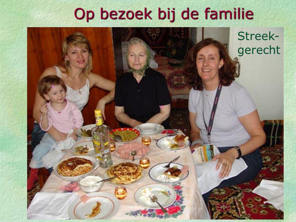 Op bezoek bij baboucha Valga (76 jaar) Op bezoek bij de familie
