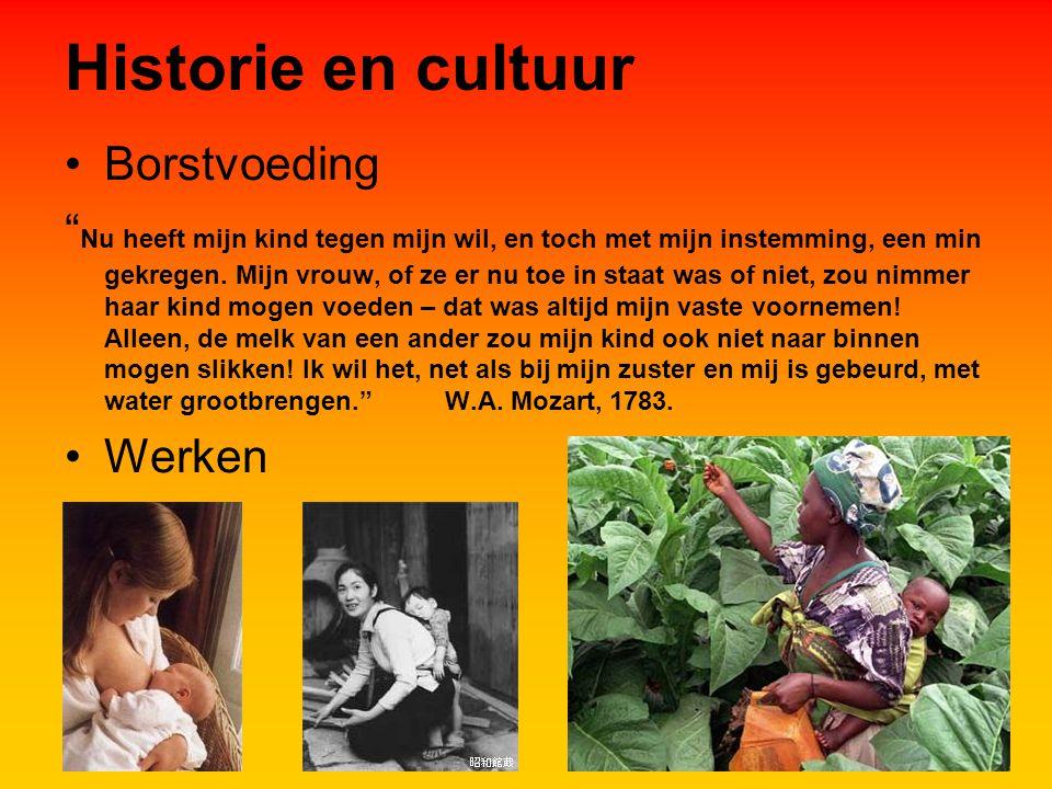 Historie en cultuur Borstvoeding Nu heeft mijn kind tegen mijn wil, en toch met mijn instemming, een min gekregen.