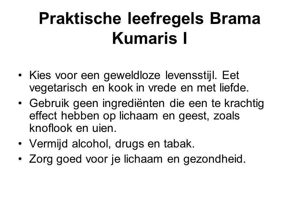 Praktische leefregels Brama Kumaris I Kies voor een geweldloze levensstijl.