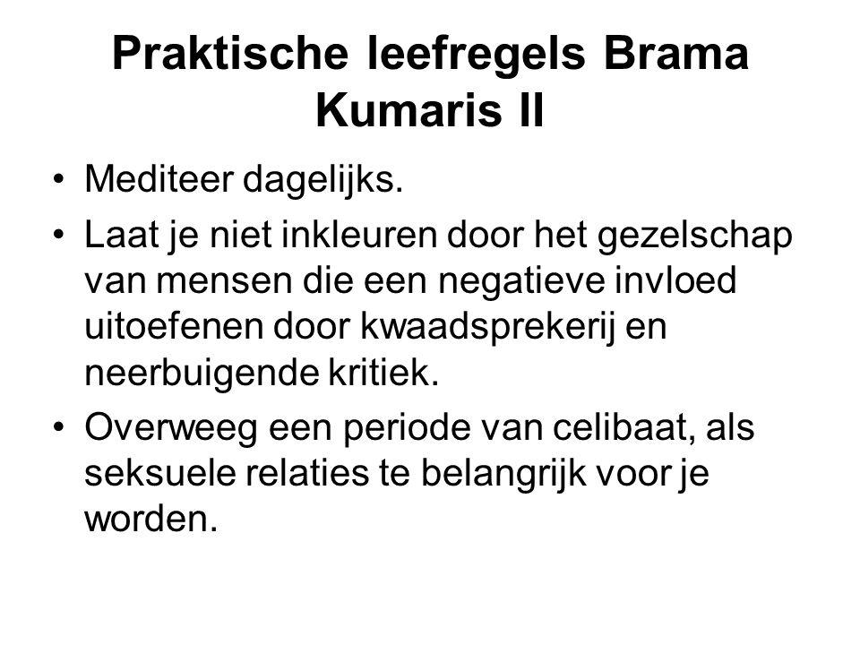 Praktische leefregels Brama Kumaris II Mediteer dagelijks.