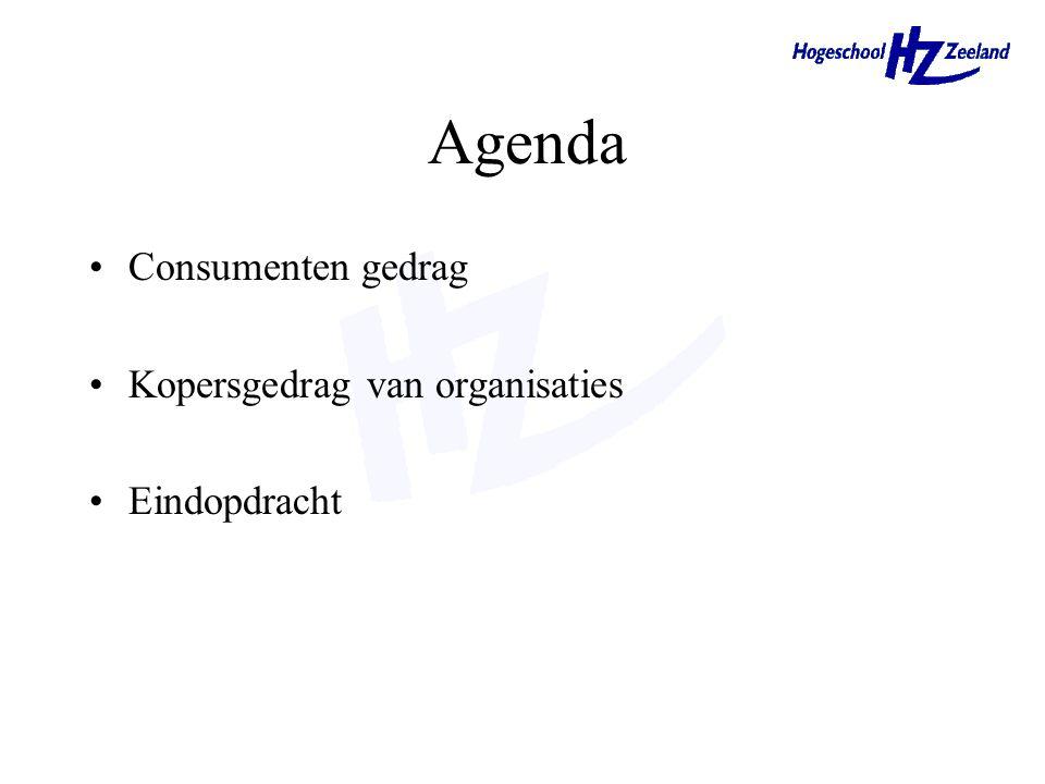 Consumentengedrag & Kopersgedrag van organisaties Hoofdstuk 5 & 6