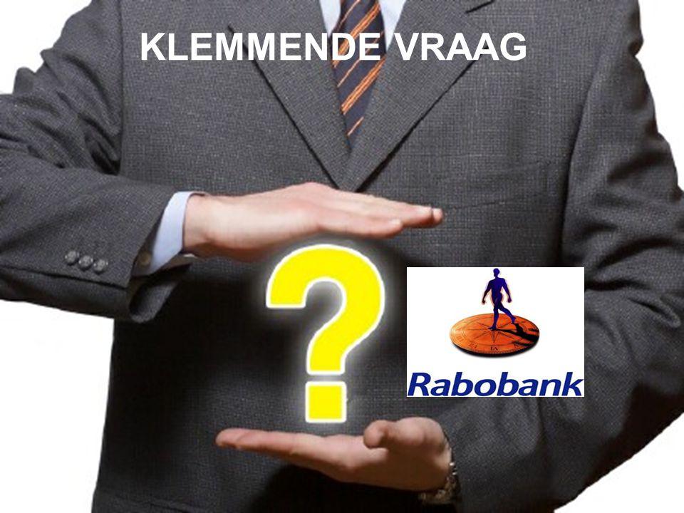 KLEMMENDE VRAAG