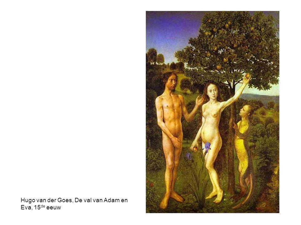 Hugo van der Goes, De val van Adam en Eva, 15 de eeuw