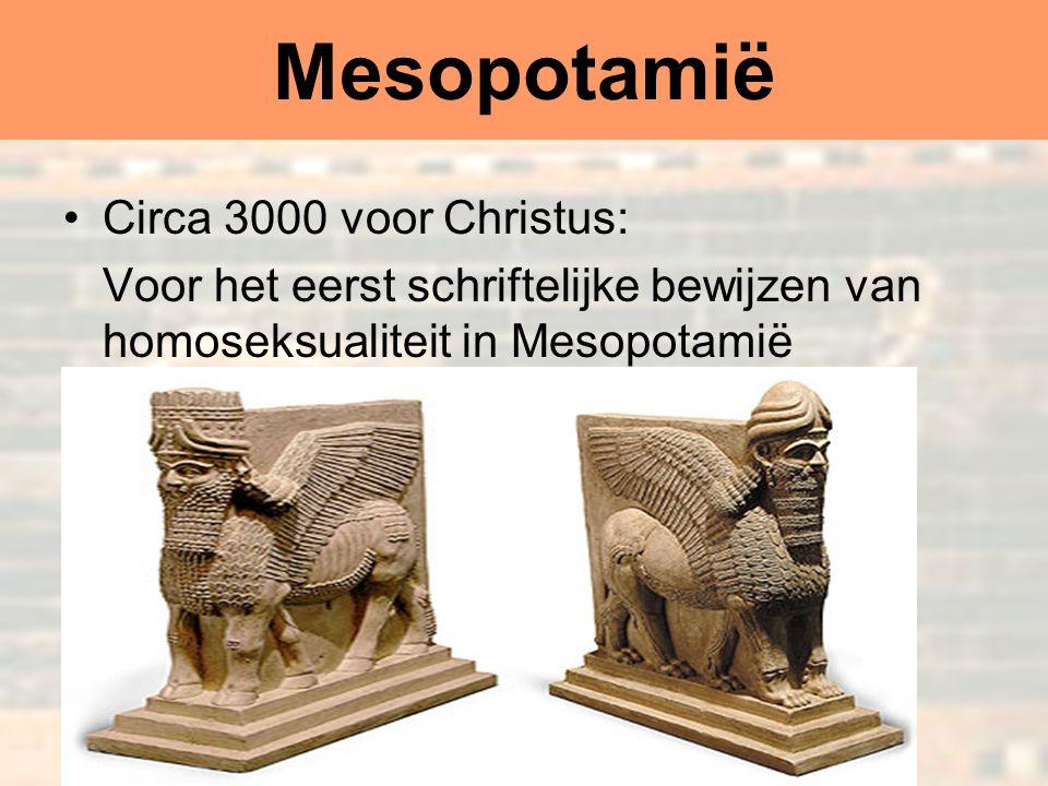 Dr Peet H Botha20 Mesopotamië Circa 3000 voor Christus: Voor het eerst schriftelijke bewijzen van homoseksualiteit in Mesopotamië