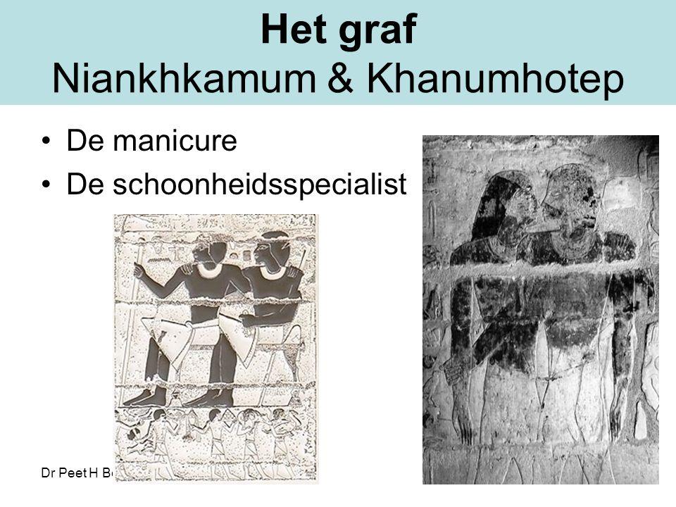 Dr Peet H Botha42 Het graf Niankhkamum & Khanumhotep De manicure De schoonheidsspecialist