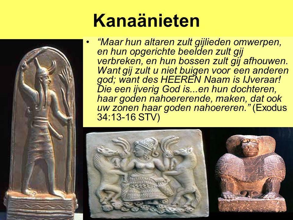 """Dr Peet H Botha47 Kanaänieten """"Maar hun altaren zult gijlieden omwerpen, en hun opgerichte beelden zult gij verbreken, en hun bossen zult gij afhouwen"""
