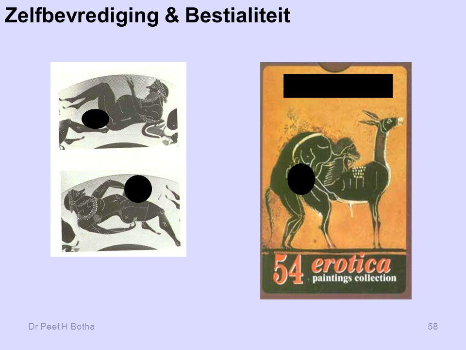 Dr Peet H Botha58 Zelfbevrediging & Bestialiteit