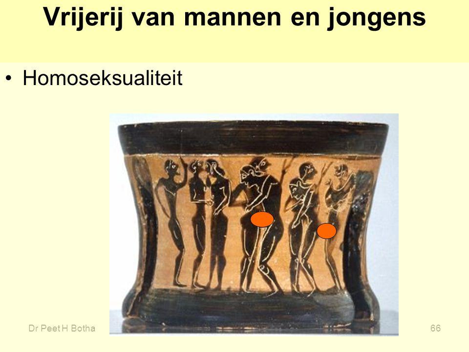 Dr Peet H Botha66 Vrijerij van mannen en jongens Homoseksualiteit