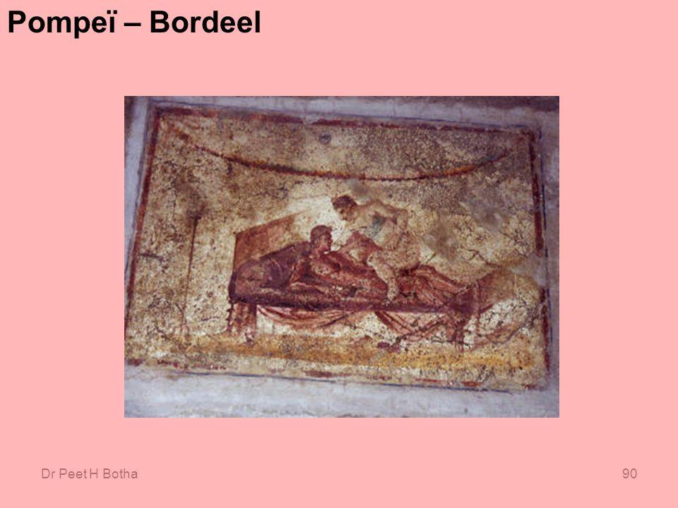 Dr Peet H Botha90 Pompeï – Bordeel