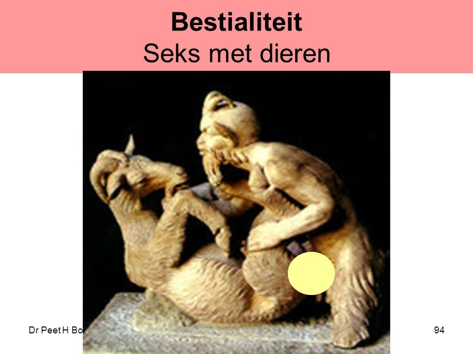 Dr Peet H Botha94 Bestialiteit Seks met dieren