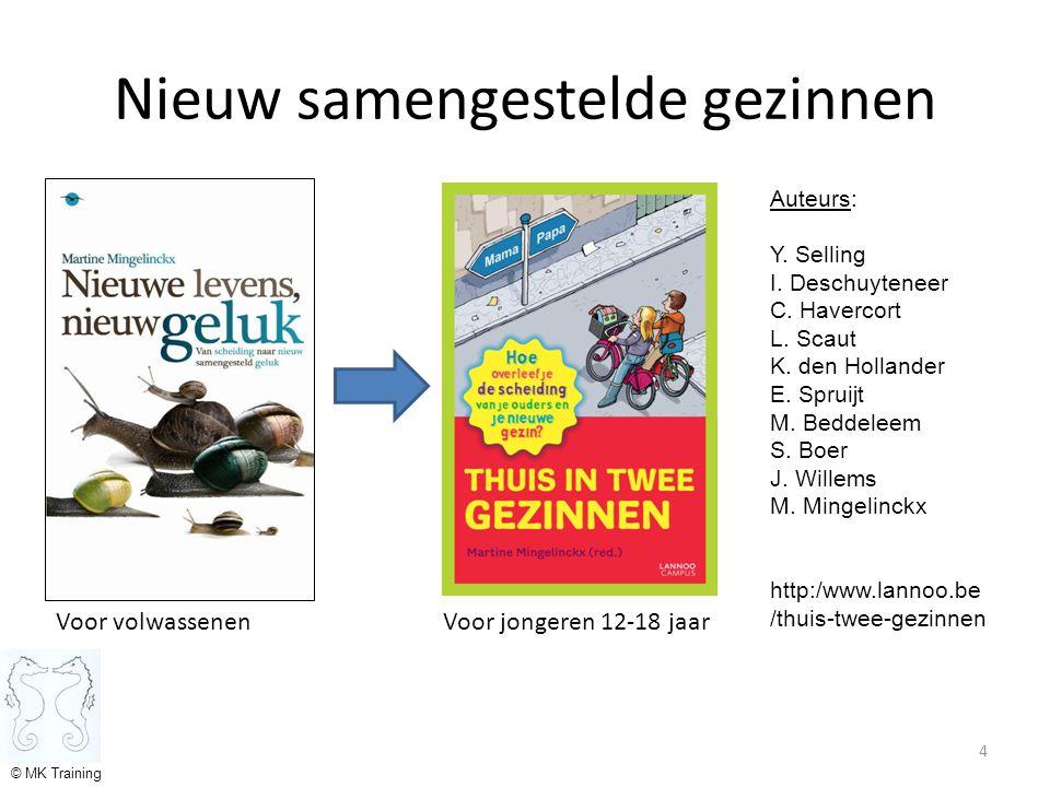 Nieuw samengestelde gezinnen Voor volwassenen Voor jongeren 12-18 jaar 4 Auteurs: Y.
