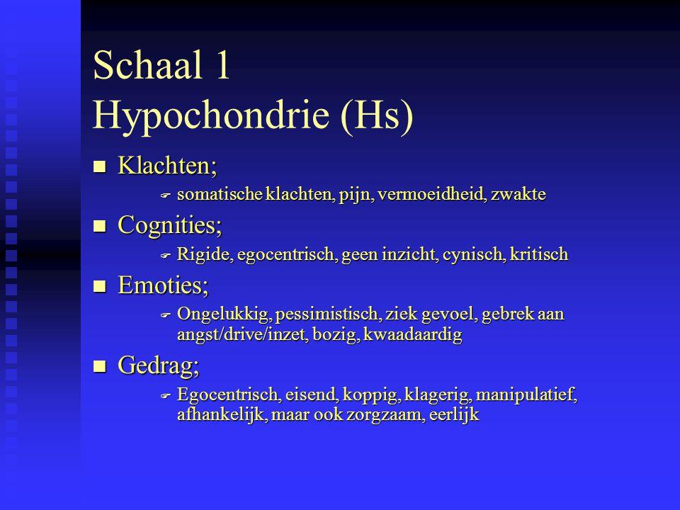 PEN Psychodiagnostics 6.Welke schalen zijn opvallend laag, wat ontbreekt er eventueel.